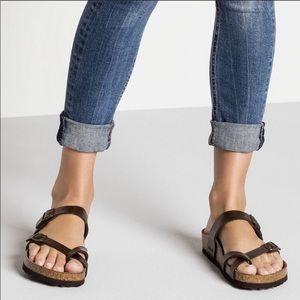 Birkenstock Mayari Brown Shimmer Sandals Size 8